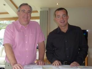 Colin Moors & Rob Hall
