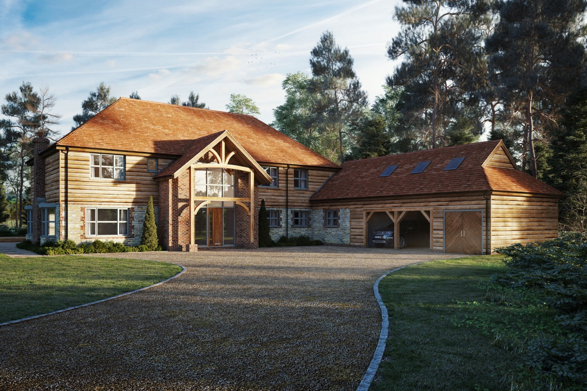 Pine ridge liphook the architectural building company for Company that builds houses